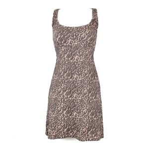 Free People | Textured Leopard Bodycon Dress M